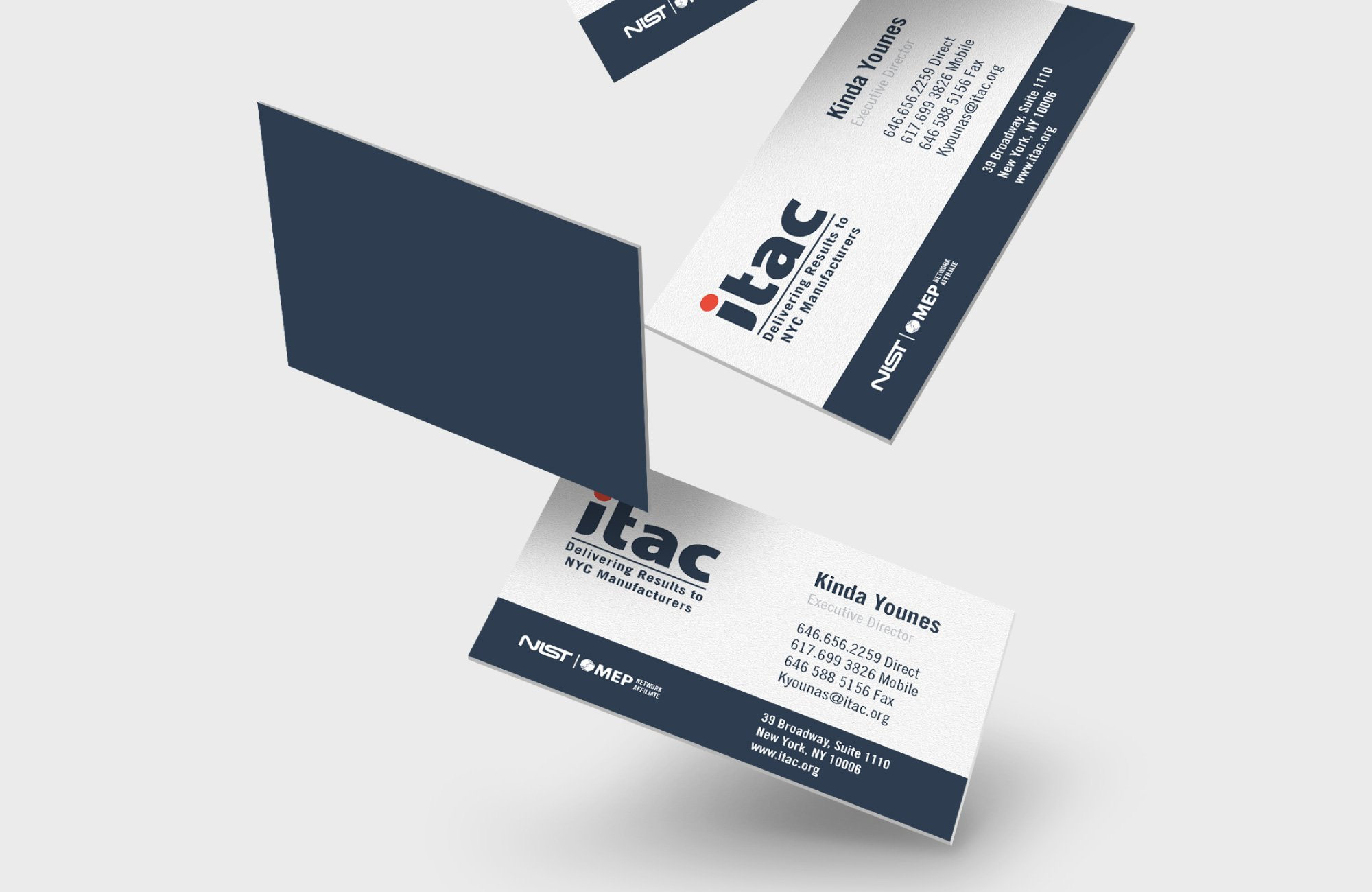 business cards, ITAC